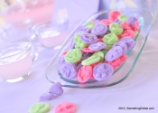 SomethingEdible on Video: How to Make Mints for a Wedding or Baby Shower.