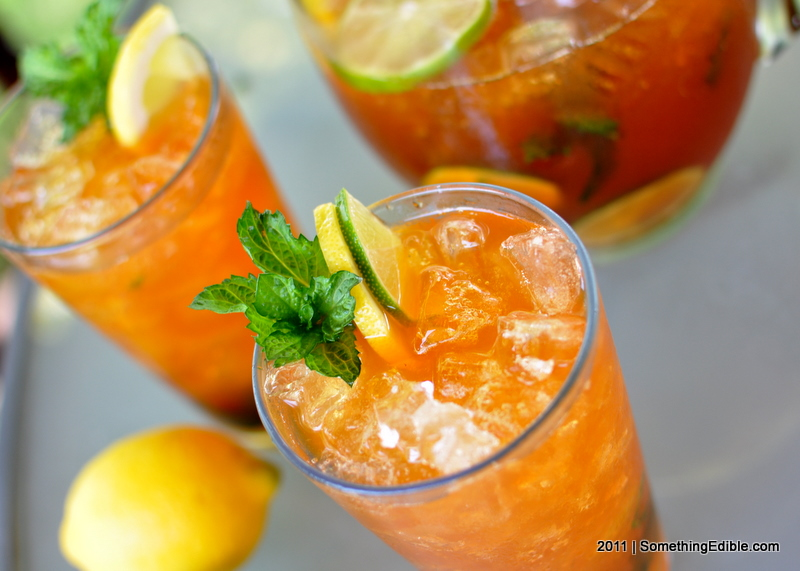 ... with the Power of Booze: Bourbon Whiskey Iced Tea. - Something Edible