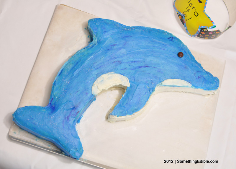 For My Daughters Birthday How To Sculpt A Dolphin Themed Cake