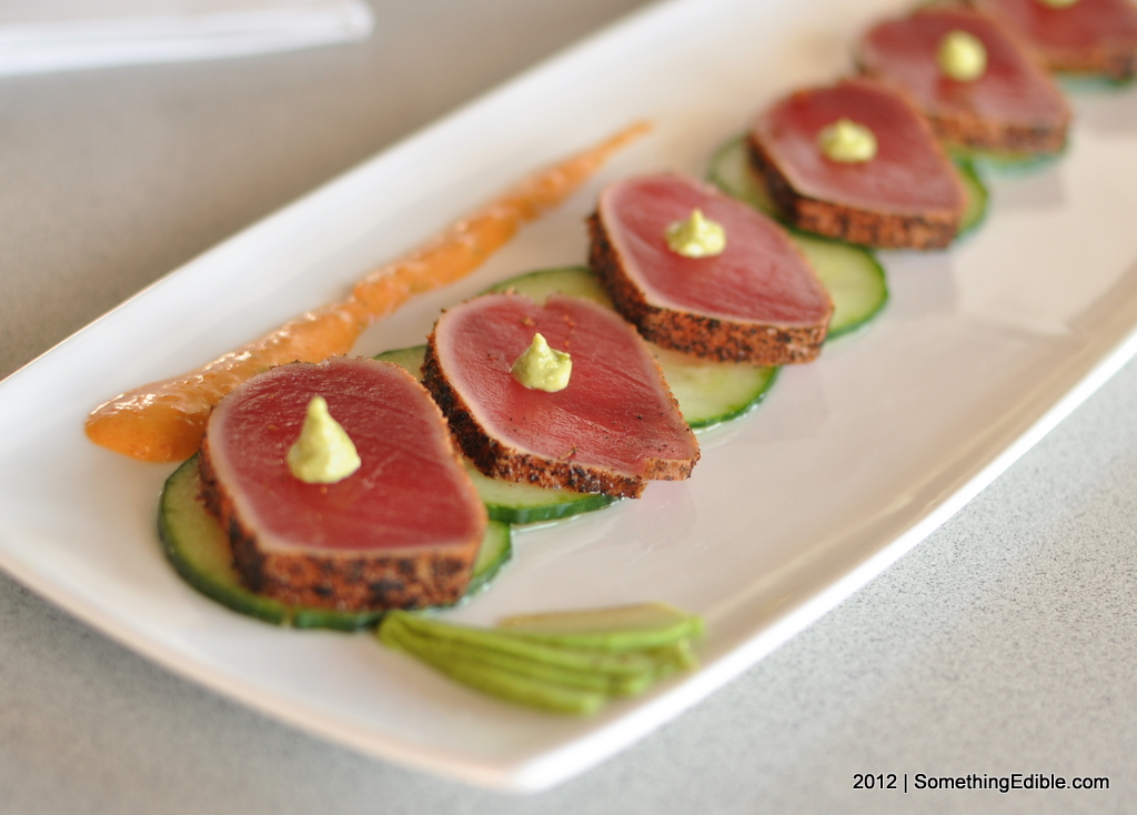 Seared Tuna Sushi Rolls Recipe — Dishmaps