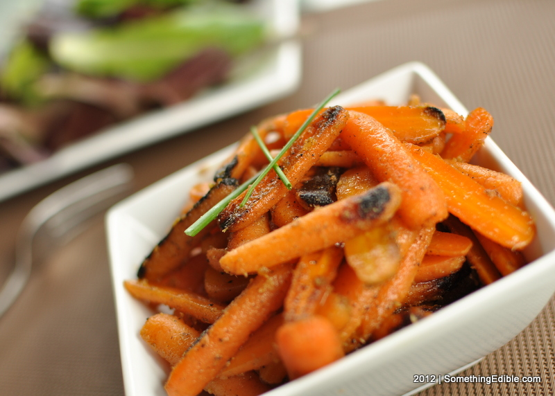 Brown Butter and Ginger Glazed Carrots - Something Edible