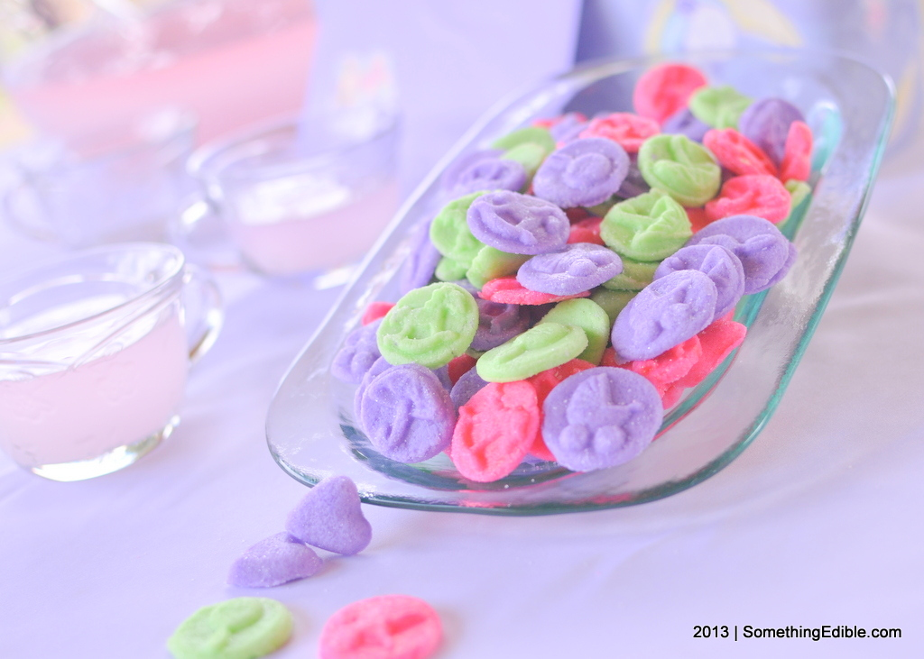 Wedding or Baby Shower Cream Cheese Mints - Something Edible
