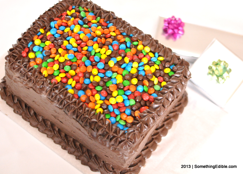 Making A Four Layer Chocolate Cake With One Pan Something Edible